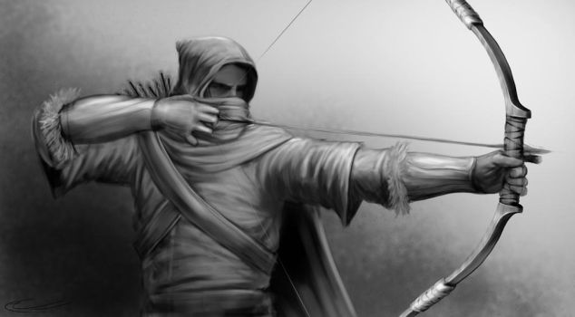 TheArcher WIP by CurtisWalkerWood