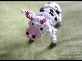 Cow by beads-poet