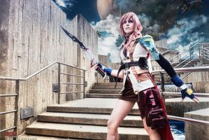 Lightning Cosplay - Darkness emerges by bgzstudios