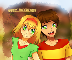 APH: Secret Valentine by LullabyDance
