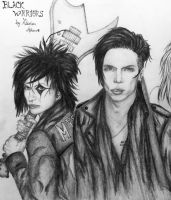 Black Warriors Sketch 4 - Andy Finished by KatarinaAutumn