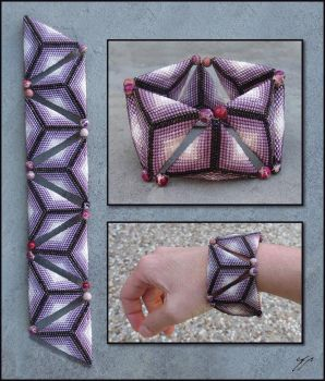 Mauve Geometry by Ellygator