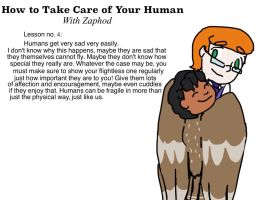 How to Take Care of Your Human 4 by Artdirector123