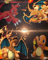 Pokemon Charizard's Family || TheGraphicsArts Nola by TheGraphicsArts