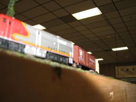 Model Power N scale ATSF FA-2 5 by TaionaFan369