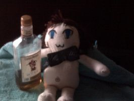 Norman plushie: pic two by MagicianofBlackchaos