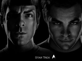Spock and Kirk by TheObserver26