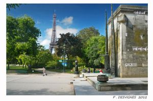 Champ de Mars by bracketting94