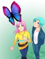 .:Beautiful Butterfly:. by Nardhwen