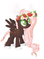 Custom: Deer Pegasus Mare | For Aawkwardwaffle by nuclearxwonderlandxx