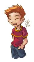 A Boy by aun61
