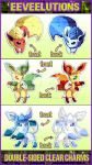 NEW Eeveelution charms!! by ToxicStarStudio