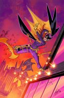 New Batgirl Desgin! by Fico-Ossio