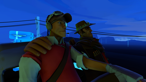 [TF2 SFM] Looking Into The Sky by AppleCat910