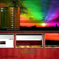 theme Rainbow for XP by tochpcru