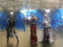 Cosplay : Aion - Hyperion's Wings by Nindo64