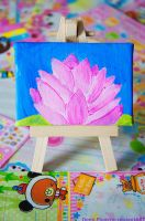 Gift: Lotus Painting by Demi-Plum