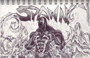 spawn in pen by jellyfishman