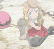 Serena Worried and Hurt (gif) by TheKalosQueenSerena