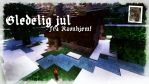 Minecraft Yule Card by PaperArtillery