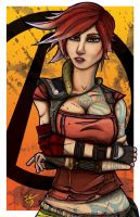 Lilith From Borderlands 2 (My 2nd Digital Artwork) by IsaacCabrera