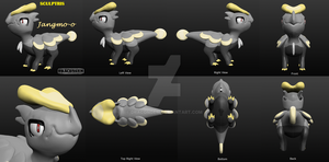 Sculptris - Pokemon: Jangmo-o