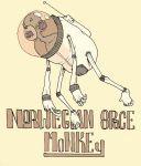 norwegian space monkey by thesometimes