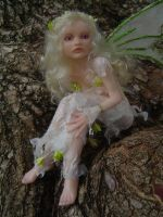 Ooak fairy art doll by LindaJaneThomas