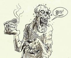Zombie Years Food Poisoning by FWACATA