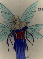 Binder Fairy coloured 2 by Psycho-Slayer