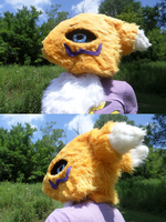 -Renamon cosplay head *FOR SALE*- by Ruby-Kicks