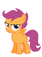 Annoyed Scootaloo by Piolet231