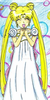 Princess Serenity Doodle-Color by Magical-Mama