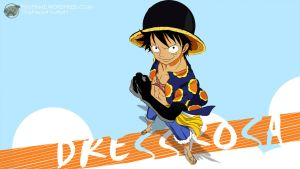 One Piece 1 Dressrosa (Luffy) - 1600x900 by PugPrime