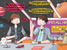 Captain Jack Harkness and Rory Williams: Life. by ice-cream-skies