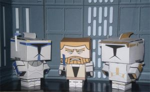 Star Wars Cubees by CyberDrone
