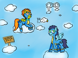 Spittfire and Soarin by MrNer0