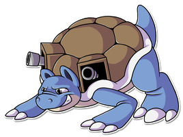 #009 Blastoise by BROOKSlE