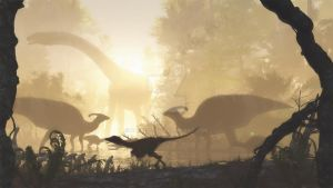 Cretaceous Morning by PaleoGuy