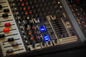 Mixer desk by Seth890603