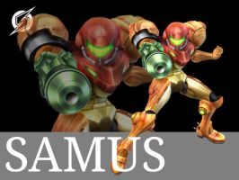 Samus artwork by RoxasXIIkeys