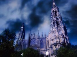 Arucas Cathedral in HDR by Skitime123