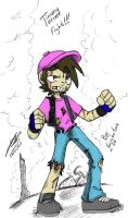 timmy turner fight colored by Tzukasa