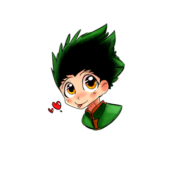 Gon Freecss by KdaPoetWarrior