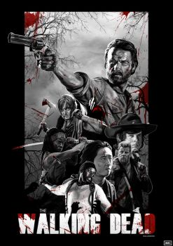 The Walking Dead by rcrosby93