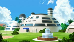 Capsule Corp Dragon Ball Z by lwisf3rxd