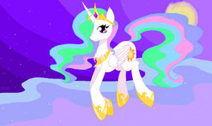 Celestia Princess of the sun by Sasinun
