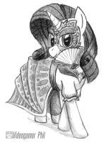 NATG 2 - Pony Attending a Masquerade by Videogamer-Phil