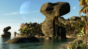 The Bay of Monoliths by uxmal750ad