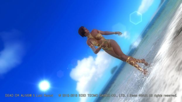 DEAD OR ALIVE 5 Last Round  Lisa7 by aponyan